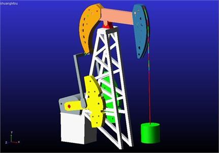 The DHH pumping unit dynamic model