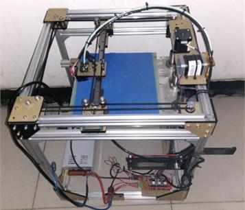 The Corexy structure machine of DIY 3D printer