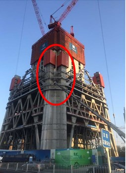 Design and construction of Beijing China Zun tower