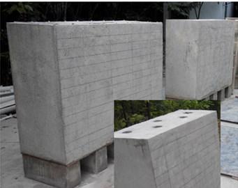 Concrete specimens and test equipment