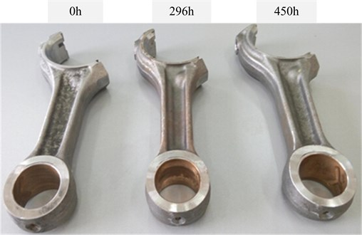 The physical map of connecting rods