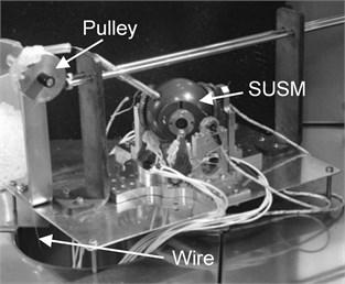 Experimental equipment for measurement of torque