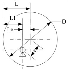 Eccentric movement relationship