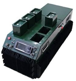 Master system of 20W PEM  hybrid power supply module