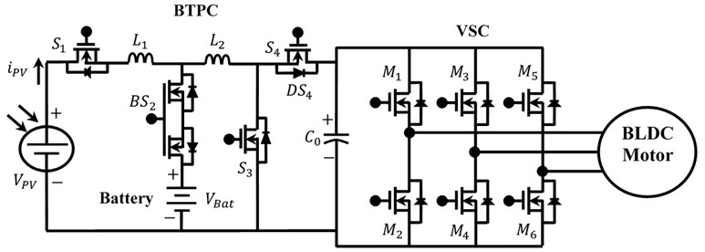 bidirectional three port converter for power flow