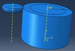 Spinning geometry model