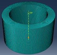 Three-dimensional finite element model