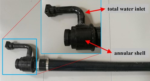The nozzle structure of spraying machine