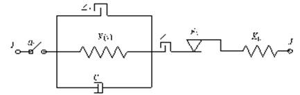 Mechanical model of safe-belt constraint system