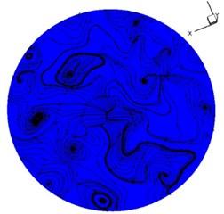 Vortex distribution