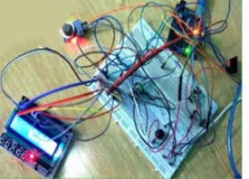 Developed arduino based real time data monitoring control system