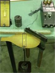 The experimental setup for extracting: a) EL, b) ER, c) μLR, d) μRL