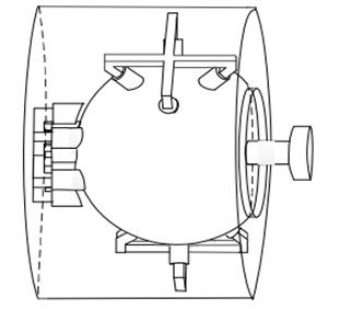 Model with the output shaft