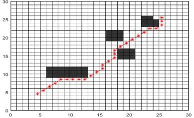 Compare the path of the different algorithm