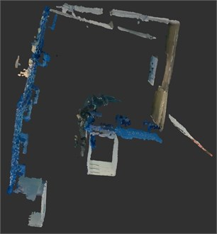 Point cloud map and cotomap map