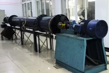 Test bench of cooling fan