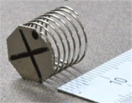 Discus type stent motor