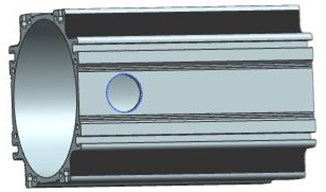 Structural model of motor case