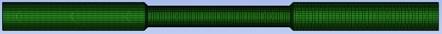 Mesh model of variable-aperture tube