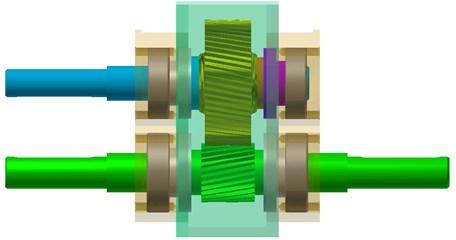 3D gear-stand model