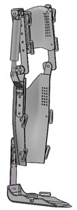 The improved version of  the robotic exoskeleton