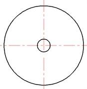 Scheme of simple expansion chamber (SEC) hydraulic suppressor: L= 175 mm, D1=D2= 38.6 mm, D= 68 mm, t= 2 mm, L1=L2= 74 mm