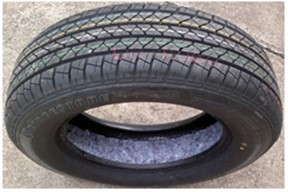 Installation of trim onto rim and tire: a) trim layer on rim; b) trim layer onto tire  (source from Mohamed and Wang, 2015 [109], Fig. 7; reprinted with permission from Elsevier)