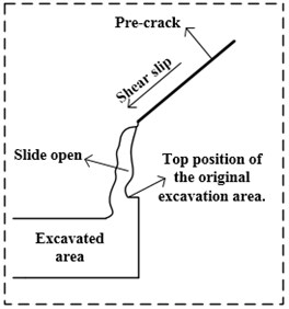 Schematic diagram of C5 failure mode