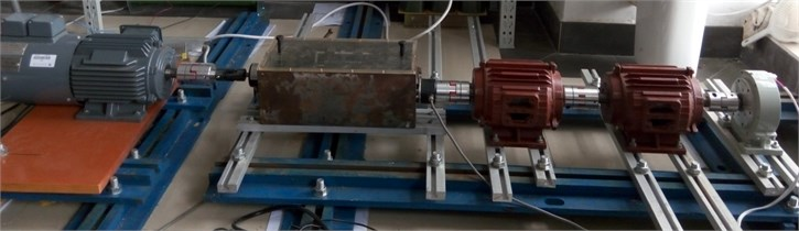 Transmission experimental platform of overrunning clutch-single gear pair system