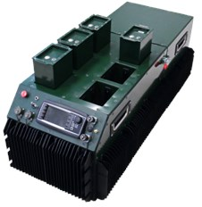 View of master system of 20 Watt PEM-FC hybrid power supply module
