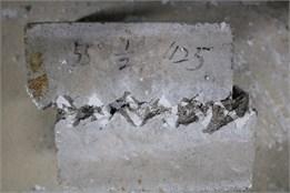 View of specimens: a) A-1, b) C-2, c) B-3