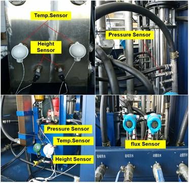 Sensors for shakers