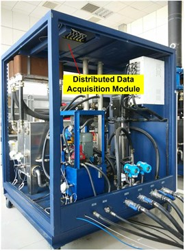 The installation location of distributed data acquisition module