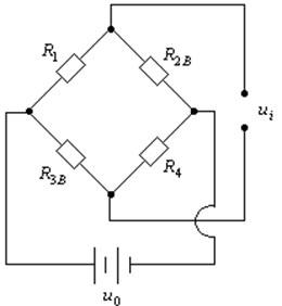 Sketch of working principle for circuit bridge