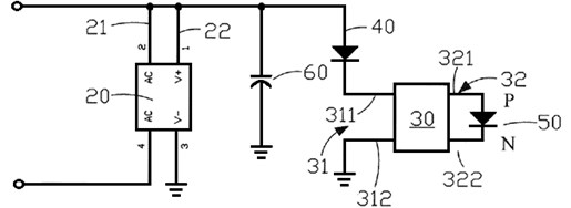 Hybrid constant current lamp