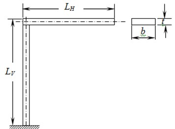 L-shaped structure