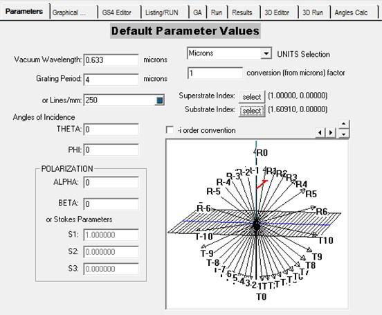 Software GSolver V5.2 for calculation of optical parameters of microfluidics