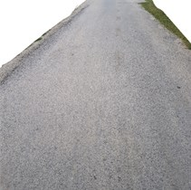Photos of a) good and b) bad condition road surface used in the test