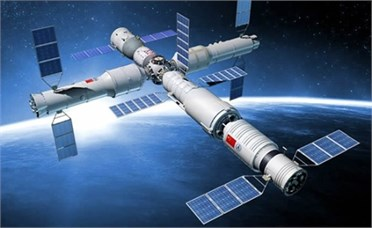 The model of the Chinese space station