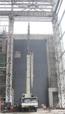Construction photo of the door