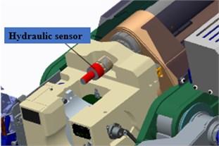 Sensor installation figure