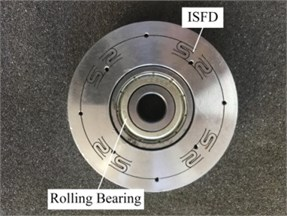 ISFD with ball bearing