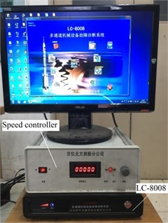 Data acquisition system LC-8008