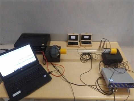 Impedance tube setup