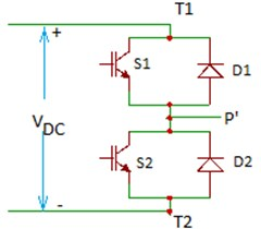 SPDT switch electronic realization