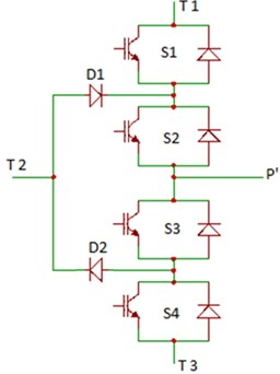SPTT switch electronic realization