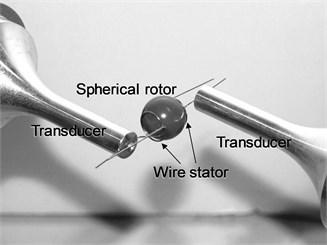 Experimental equipment of rotational speed measurement