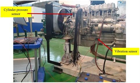 Measuring position of vibration sensor
