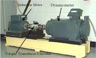 Experimental setup for bearing vibration analysis
