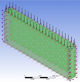 Boundary condition and finite element meshing